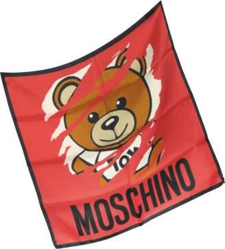 Moschino Teddy Bear Silk Bandana