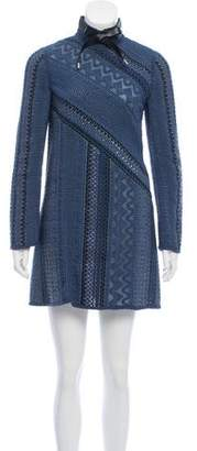Louis Vuitton Woven Mini Dress