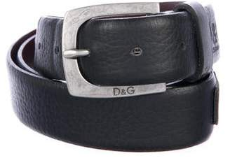 Dolce & Gabbana Leather Buckle-Accented Belt