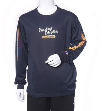 Champion (チャンピオン) - チャンピオン Champion ジュニア バスケットボール 長袖Tシャツ MINI PRACTICE LONG TEE CK-LB426