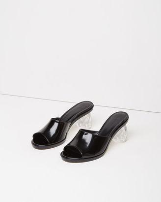 Simone Rocha Crystal Heel Sandal $910 thestylecure.com