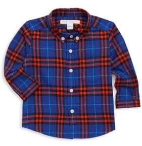 Burberry Baby Boy's& Little Boy's Fred Plaid Button-Down Shirt