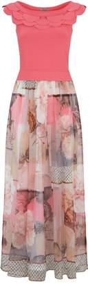 D-Exterior D.Exterior Printed Maxi Dress