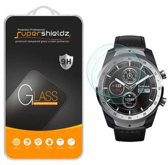 [2-Pack] Supershieldz for TicWatch Pro Tempered Glass Screen Protector, Anti-Scratch, Anti-Fingerprint, Bubble Free