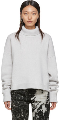 Maison Margiela Grey Chunky Turtleneck