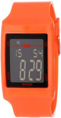 01 The One 01TheOne Unisex DG921OR Digital Plastic DG Series Watch