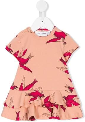 Mini Rodini swallows print dress