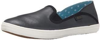 Keds Women's Crashback Leather Fashion Sneaker $52.11 thestylecure.com