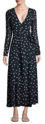 Ganni Marceau Goergette Wrap Dress