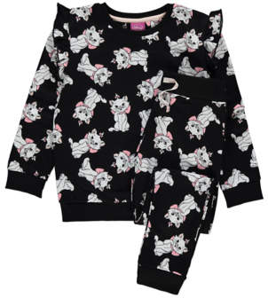 CAT George Disney The Aristocats Marie Print Sweatshirt and Leggings Outfit
