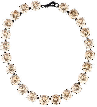 Bottega Veneta Bottega Veneta Crystal Collar Necklace