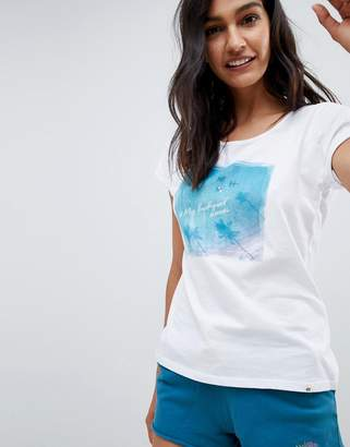 Rip Curl Eco Pacific Ombre Beach T-Shirt in Organic Cotton