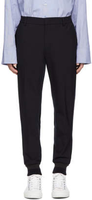 Wooyoungmi Navy Tapered Lounge Pants
