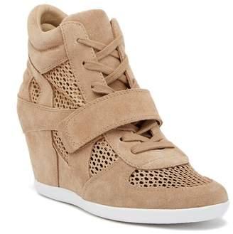 5c1bad0040ef Ash Bowie Suede Perforated Wedge Sneaker