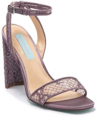 Betsey Johnson Kani Open Toe Heeled Sandal