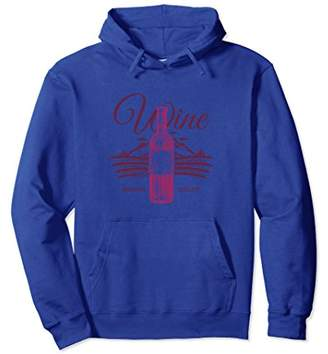 Wine Premium Quality Bottle Funny Drinkers Gift Hoodie