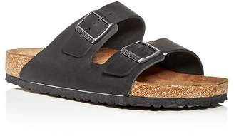 d9ecb906a0 Birkenstock Men s Arizona Oiled Leather Slide Sandals