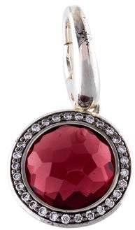 Ippolita Garnet & Diamond Lollipop Charm