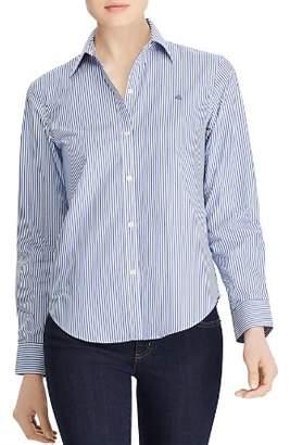 Ralph Lauren Pinstriped No-Iron Shirt