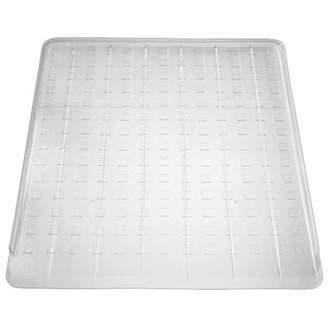 InterDesign Kitchen Dish Drain Board for Pots, Pans, Glasses, Bowls, Clear