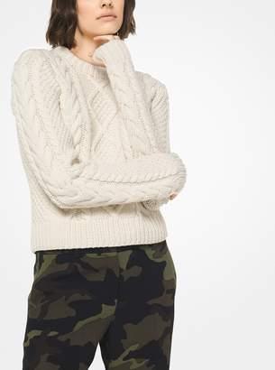 Michael Kors Aran Cashmere Pullover