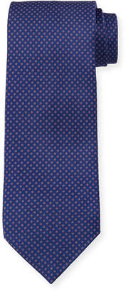 Stefano Ricci Small Floral Silk Tie