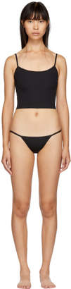 Solid and Striped Black Nicole and Kate Bikini