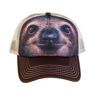 The Mountain Men's Sloth Face Foam Trucker Hat