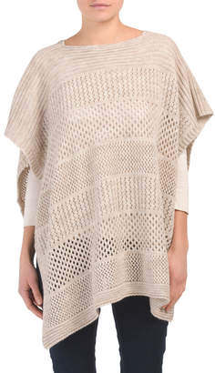 Made In Italy Box Shape Poncho