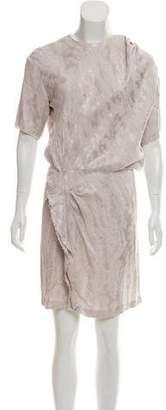 Isabel Marant Short Sleeve Knee-Length Dress