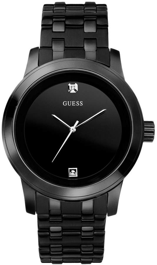 guess men s black ion plated stainless steel bracelet watch 38mm guess men s black ion plated stainless steel bracelet watch 38mm u12604g1 shopstyle