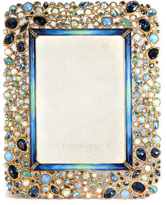 """Jay Strongwater Javier Bejeweled Picture Frame, 5"""" x 7"""""""