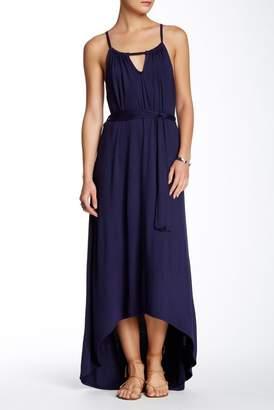 Loveappella Keyhole Halter Dress