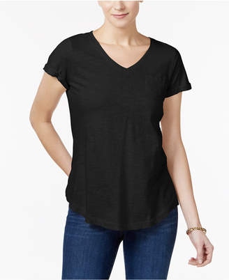 Style&Co. Style & Co Cotton T-Shirt, Created for Macy's
