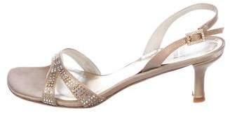 Stuart Weitzman Checkout Embellished Sandals