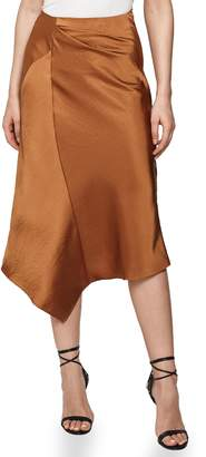 Reiss Asymmetrical Skirt