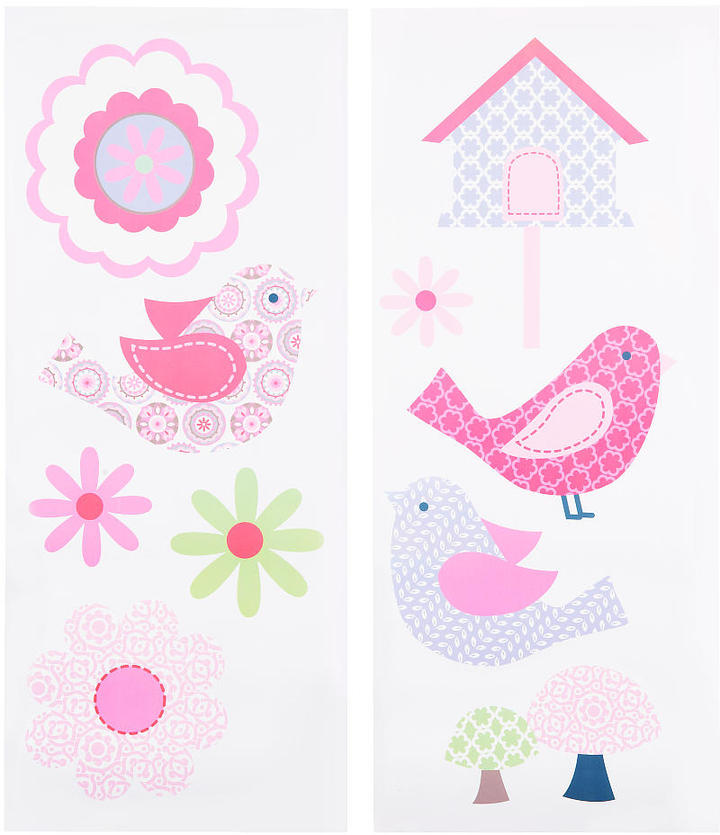 Triboro Quilt Mfg Co Just Born Girl Chloe Wall Decals