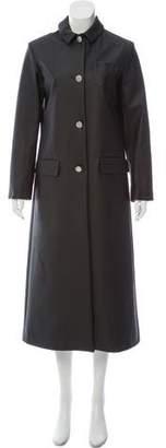 Arthur Arbesser Long Tech Coat