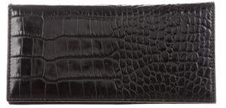 Lauren Ralph Lauren Embossed Leather Wallet
