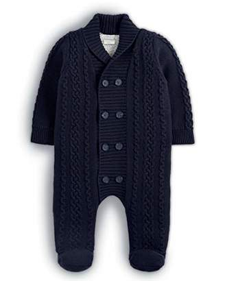 Mamas and Papas Baby Boys' Knitted Pramsuit Snowsuit