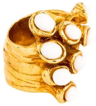 Saint Laurent Arty Dots Ring