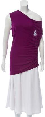 Jean Paul Gaultier Sleeveless Ruched Top