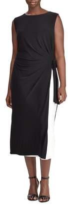 Lauren Ralph Lauren Two-Tone Shift Dress