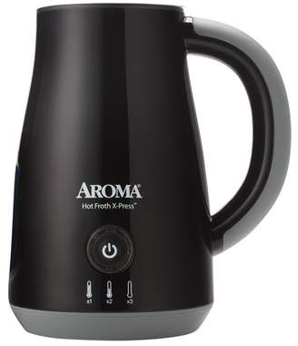 AROMA Black Hot Froth X-Press(TM) Single Serve Milk Frother