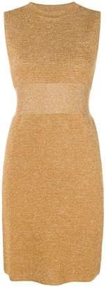 Moschino ribbed lurex dress