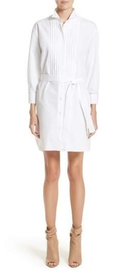 Women's Burberry Madeline Cotton Poplin Shirtdress