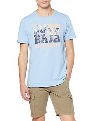 57d0f9d9a7 at Amazon.co.uk · Izod Men's SURF Baja Graphic TEE T-Shirt, (Placid Blue  483),