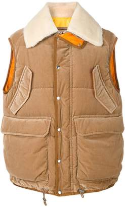 Sacai down padded gilet