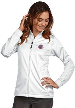 Antigua Women's Detroit Pistons Golf Jacket