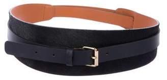 MAISON BOINET Ponyhair Wrap Belt